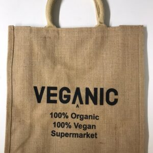 Veganic large carrier bag