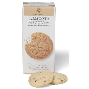 Almond Cookies Organic GF - Against the Grain