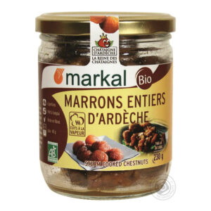 Cooked Whole Chestnuts 230g - Markal