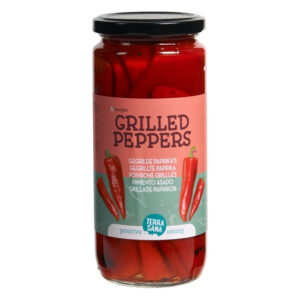 Grilled Peppers 450g - Terrsana