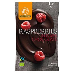 Raspberries in Dark Chocolate