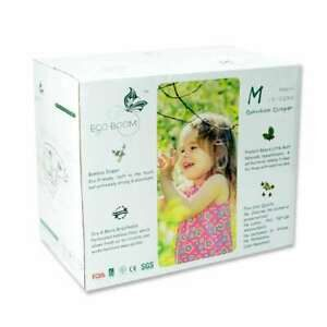 Bamboo Nappies M 6-11kg (Pk96) - Eco Boom