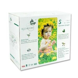 Bamboo Nappies S 3-8kg (Pk108) - Eco Boom