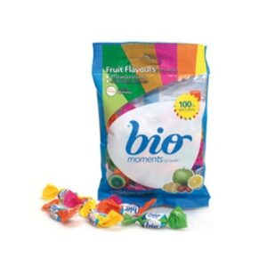 Organic Candies Fruit Flavours (60gr) Cherry Lemon Mandarin and Green Apple – Bio Moments