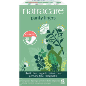 Cotton Curved Panty Liners (Pk30) - Natracare