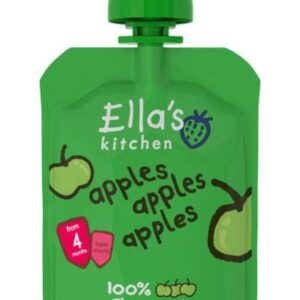 Ella's Kitchen Baby First Tates - Apples Apples & Apples 70g