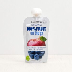 FRUIT ON THE GO organic Apple-Blueberry