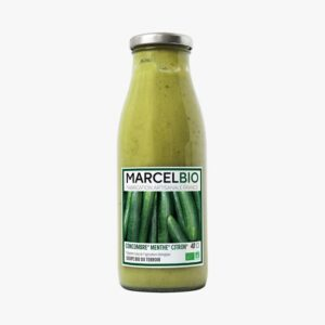 Cucumber, Mint & Lemon Soup (480ml) - Marcel Bio