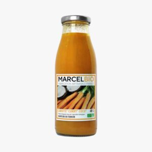 Marcel Bio Carrot Orange & Ginger 100% Organic Soup (2portion) 480ml