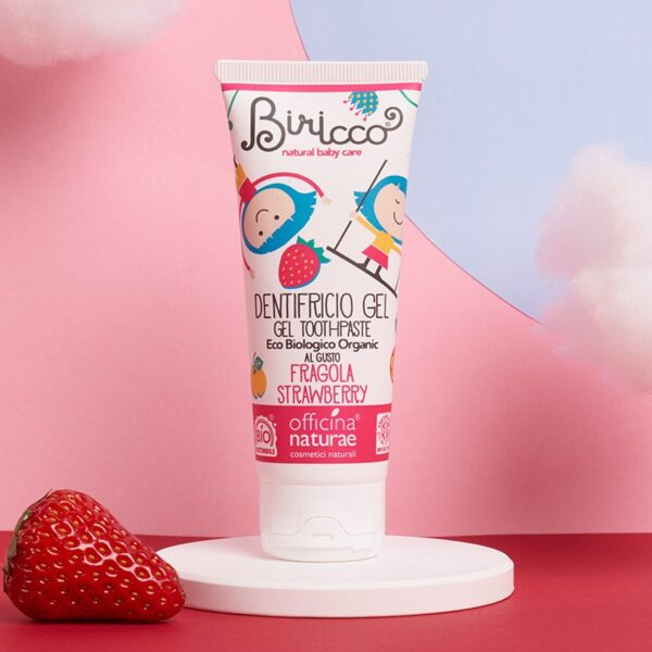 Baby & Child's Toothpaste Strawberry - Officina Naturae