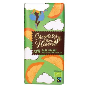 72% Dark Orange - Chocolates from Heaven