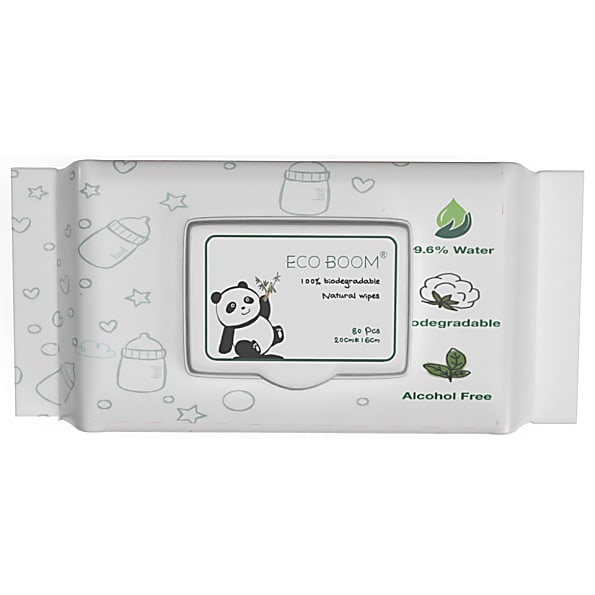 Bamboo Wet Wipes - Eco Boom
