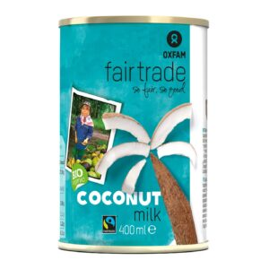 Coconut Milk (400ml) - Oxfam