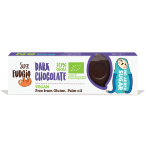 Dark Chocolate Bar No Added Sugar - Super Fudgio