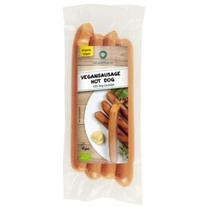 Hot Dog Sausages (Pk4) - Veggyness
