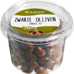 Black Olives without stone (125g) - Marc't