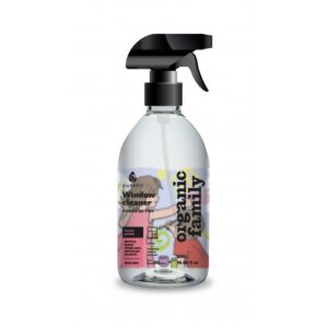 Glass and Window Cleaner (500ML) – Organic Family