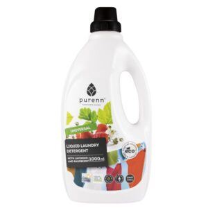Liquid Laundry Detergent with Lavender and Raspberry (1L) - Purenn