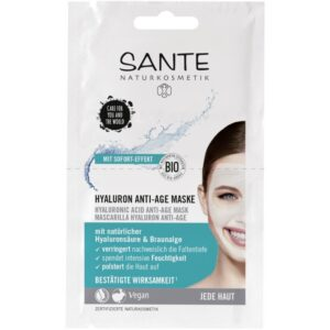 Hyaluronic Anti Age Face Mask Sante